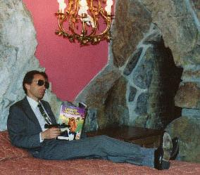 George Shrub relaxing at home in an undisclosed location
